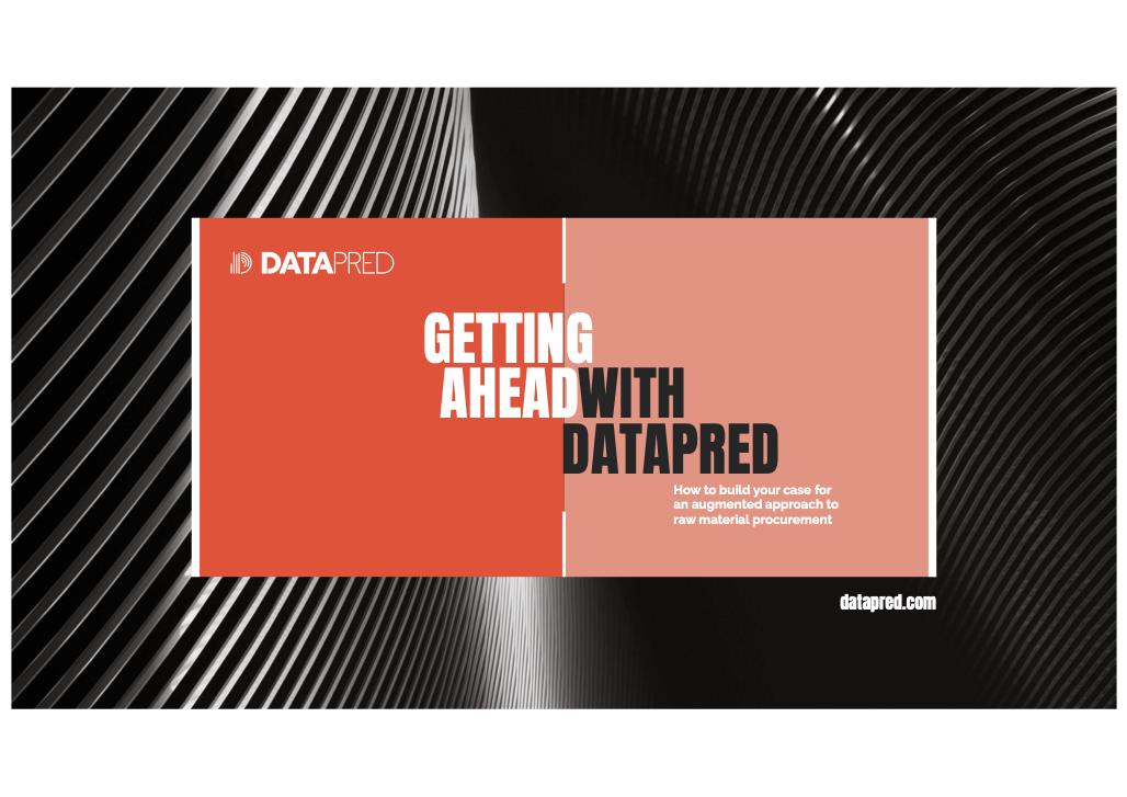Get Ahead With Datapred Cover
